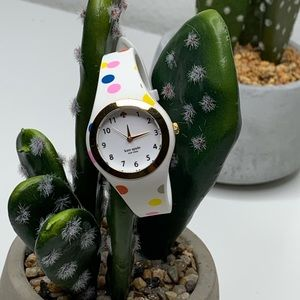 Kate Spade Color Me Playful Silicon Rumsey Watch